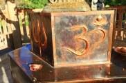 Sooriya Kumar Shiva Temple Base - Om Detail