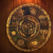 Unity of Religions Copper Wall Art