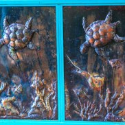 Sea Life Panel Gate (detail)