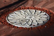 Lotus paver art 3 by Sooriya Kumar