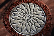 Lotus paver art 1 by Sooriya Kumar