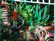 Hibiscus Garder Panel
