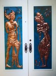 Rama and Sita double door