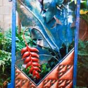 Copper and steel garden Art by Sooriya Kumar