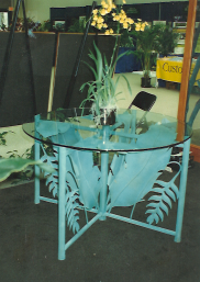 Bird of Paradise Garden Table