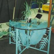 Bird of Paradise Garden Table
