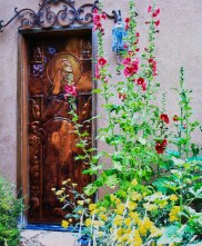 Entry of beauty and sacred space